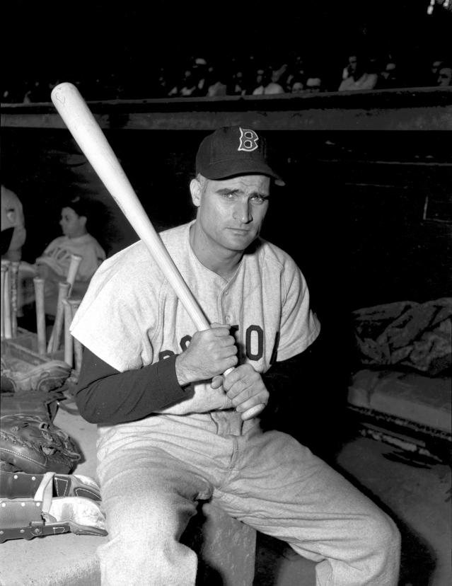 <p>Bobby Doerr (1918-2017): Hall of Fame second baseman for the Boston Red Sox. </p>