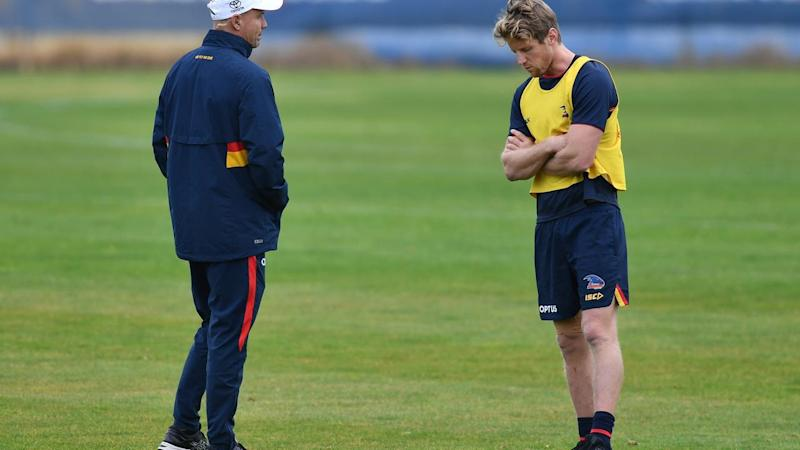 AFL CROWS TRAINING