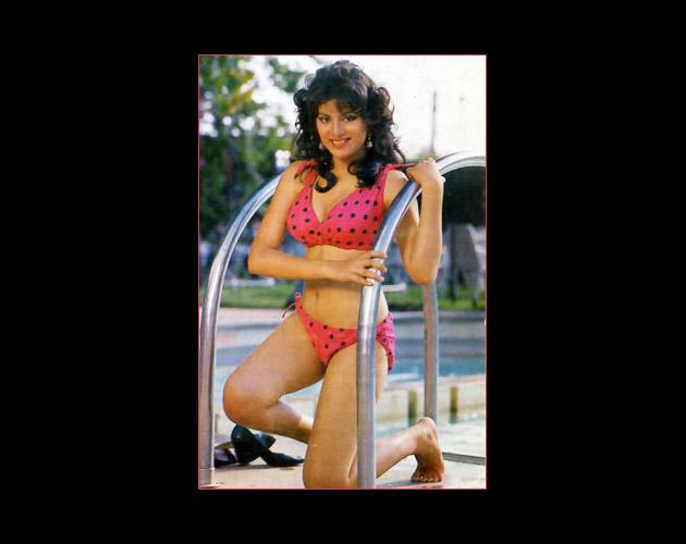 Sonam, who shone in Tridev was yet another diva of those ages who was comfortable in a bikini