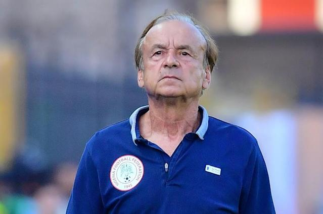 Gernot Rohr took charge of the Nigeria national team in 2016 (AFP Photo/Giuseppe CACACE)