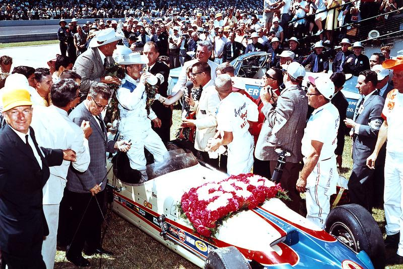 """Thankfully, Parnelli nailed one of a handful of genuine chances to win Indy – arguably IMS's greatest driver in the '60s.<span class=""""copyright"""">IndyCar Series</span>"""