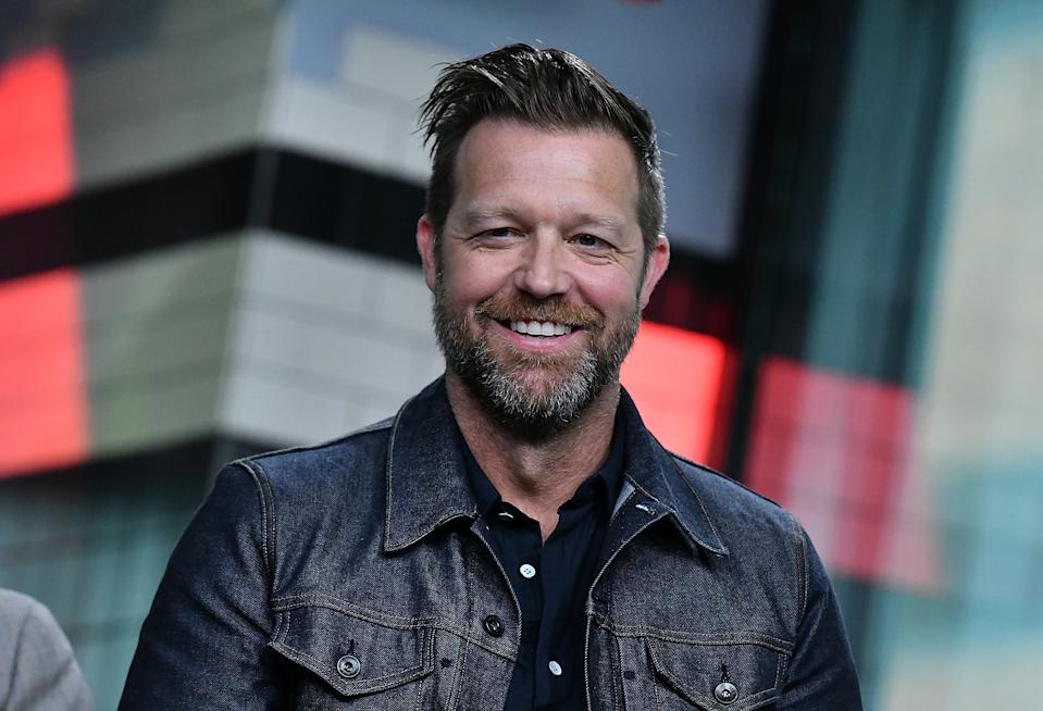 """NEW YORK, NY - MAY 14:  (EXCLUSIVE COVERAGE) Director David Leitch visits Build Series to discuss """"Deadpool 2"""" at Build Studio on May 14, 2018 in New York City.  (Photo by Slaven Vlasic/Getty Images)"""