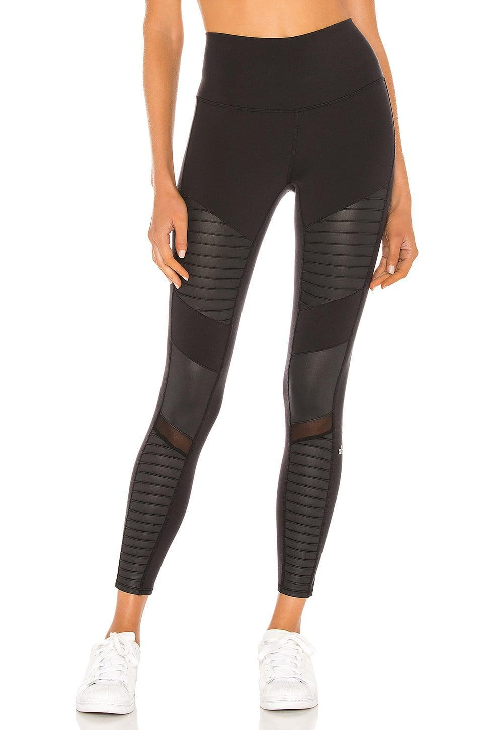 <p>These <span>Alo 7/8 High Waist Moto Leggings</span> ($114) are comfortable and easy to wear, but still look elevated.</p>