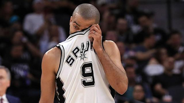 Tony Parker's season is over, after an MRI scan confirmed he has suffered a ruptured left quadriceps tendon on Wednesday.