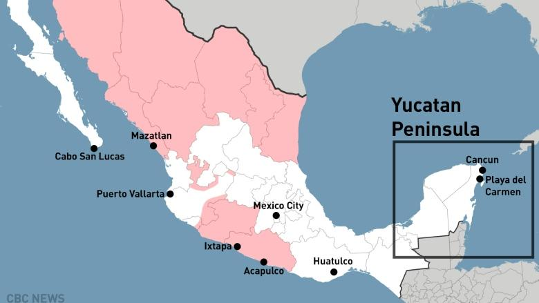 Is Mexico Getting More Dangerous For Canadian Tourists
