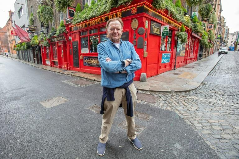 """Tom Cleary owns the Temple Bar which lends its name to Dublin's famed """"Temple Bar"""" drinking district"""
