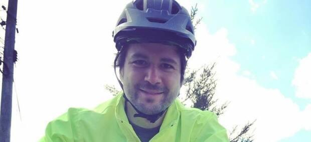 Nick Cameron and his young daughter often bike around the city of Saint John.