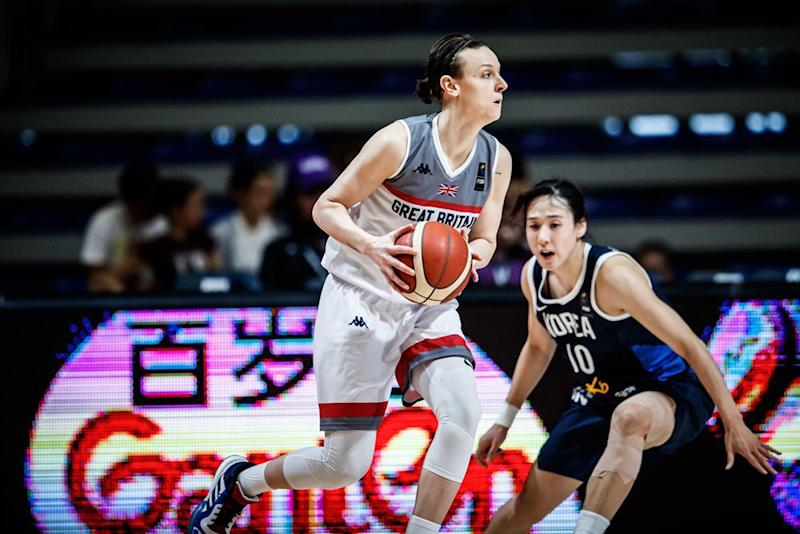 Chantelle Handy in action Credit: GB Basketball
