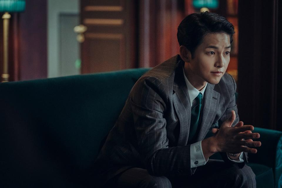 Song Joong Ki in Vincenzo. (Photo: Netflix)
