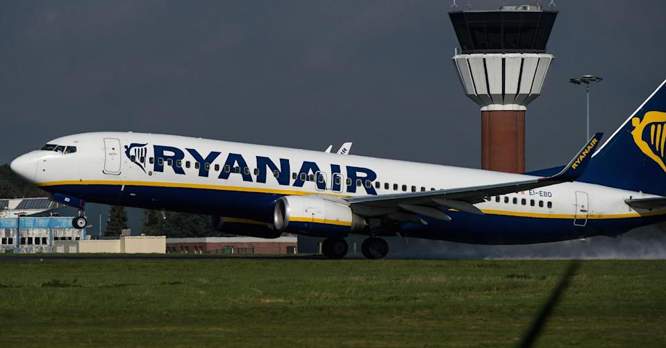 Flying into trouble: Ryanair is cancelling scores of flights every day, affecting thousands of travellers (Philippe Huguen | AFP | Getty Images)