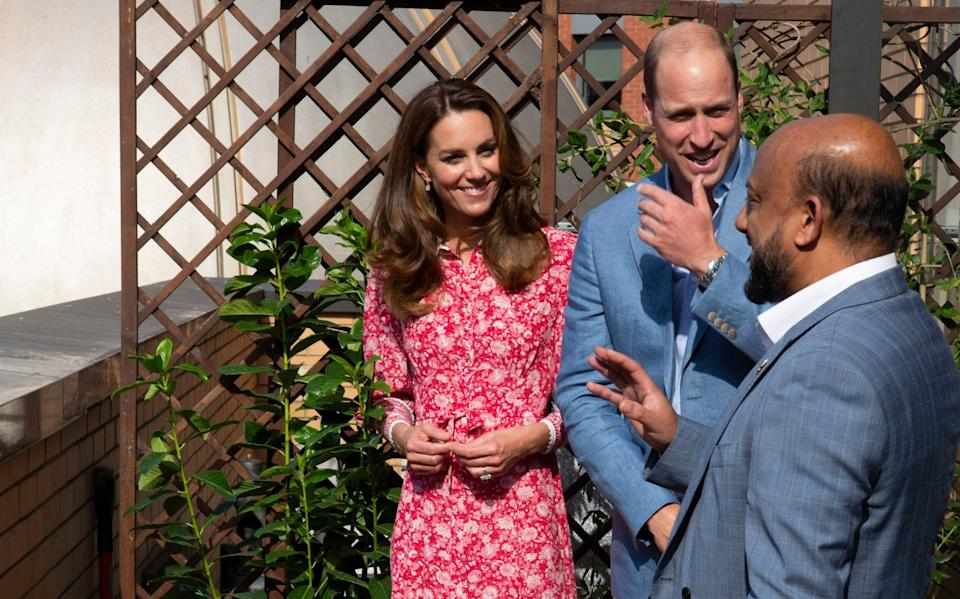 William and Kate take a tour of East London Mosque - Ian Vogler