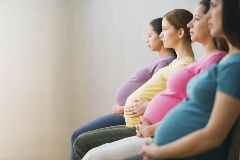 As it turns out, pregnancy is contagious. (Getty Images)