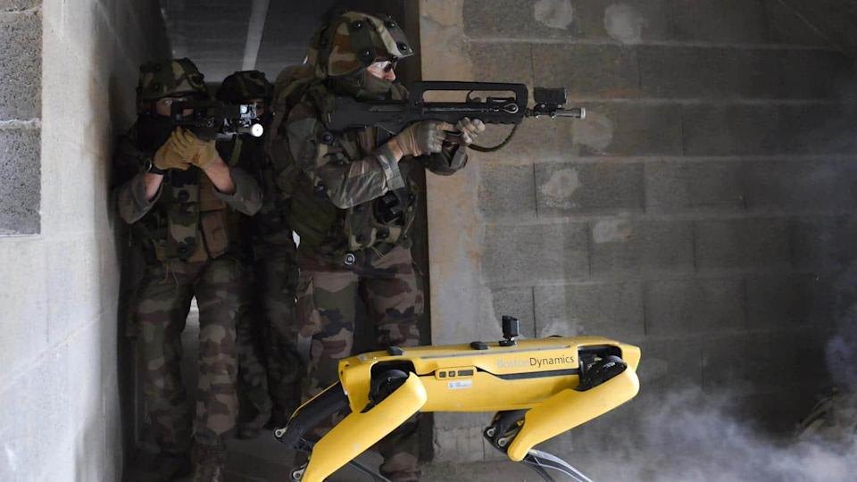 French Army is testing robot dog Spot from Boston Dynamics
