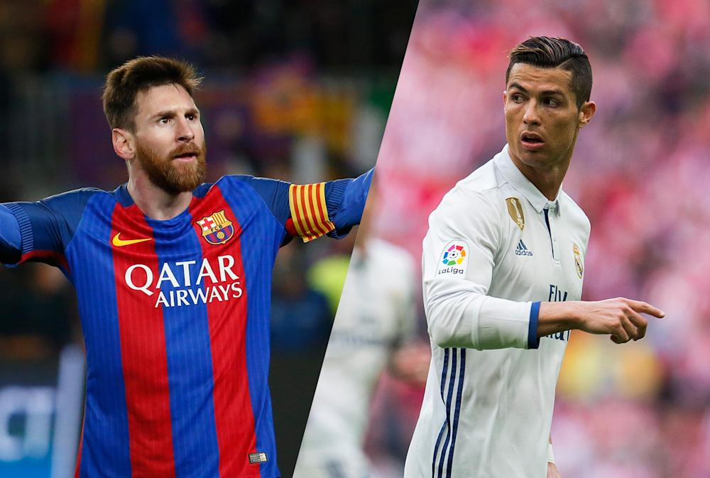 Lionel Messi is currently in line to earn his fourth Pichichi, one more than Cristiano Ronaldo: Getty