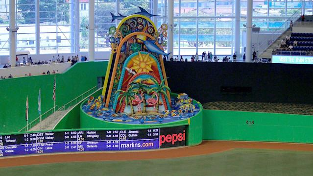 Season previews suggesting the Miami Marlins have an entirely new look in the outfield aren't quite accurate.
