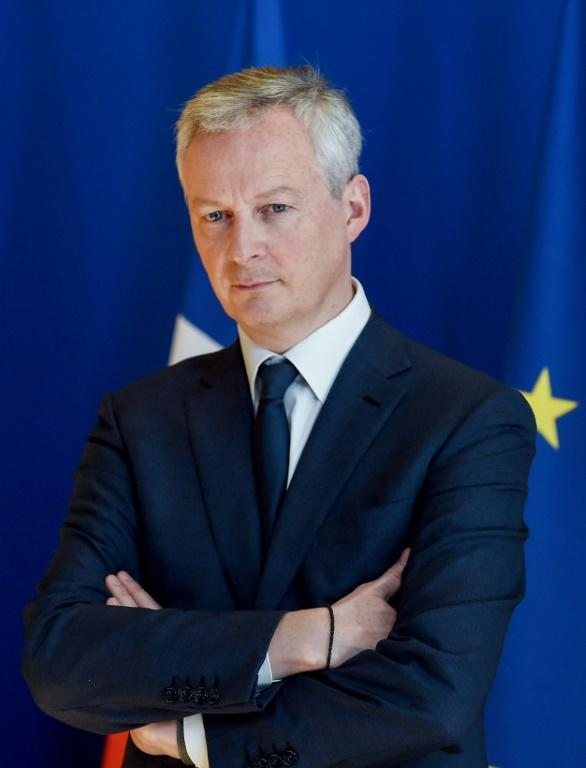 'There will be coordinated action', Le Maire said (AFP Photo/ERIC PIERMONT)