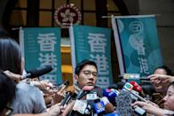 Nathan Law, one of Hong Kong's most prominent young democracy activists, announced he had fled overseas in response to Beijing imposing a sweeping security law on the city