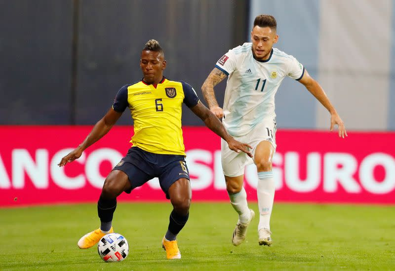 World Cup 2022 South American Qualifiers - Argentina v Ecuador