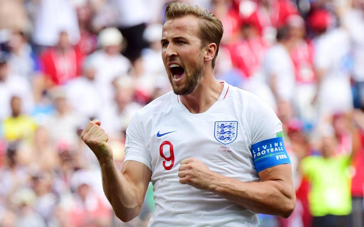 Five alive: Harry Kane scored hat-trick as England hit Panama for six – his fifth goal already
