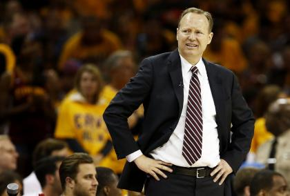 Hawks head coach Mike Budenholzer will essentially run the franchise. (Getty)
