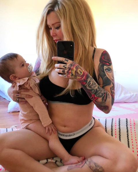"""<p>Ten months after welcoming her daughter, the 43-year-old former porn star got real about her post-baby body. Describing herself as """"super insecure about my belly,"""" she called out the trend of """"seemingly unattainable insanely perfect Instagram models that literally look like Victoria's Secret models just days after giving birth. God bless em."""" She went on to say that nearly a year after having Batelli, she's """"not anywhere near where I'd like to be."""" However, she added, """"I haven't worked out once, or even WANTED to… This is my new norm, my little beautiful baby that loves me, and every dimple and roll."""" She said she will get back to exercising, but encouraged her followers to embrace themselves — and the miracle of pregnancy. (Photo: Jenna Jameson via Instagram) </p>"""