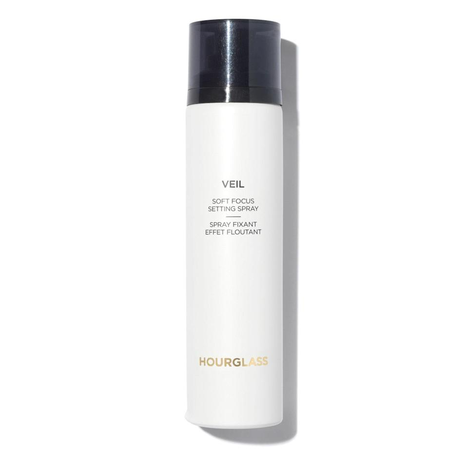 "<p>The way <a href=""https://www.allure.com/story/hourglass-veil-soft-focus-setting-spray-review?mbid=synd_yahoo_rss"" rel=""nofollow noopener"" target=""_blank"" data-ylk=""slk:Hourglass Veil Soft Focus Setting Spray"" class=""link rapid-noclick-resp"">Hourglass Veil Soft Focus Setting Spray</a> is part makeup lock, part skin moisturizer, all with lots of staying power. The <em>Allure</em> <a href=""https://www.allure.com/gallery/best-of-beauty-base-makeup-product-winners?mbid=synd_yahoo_rss"" rel=""nofollow noopener"" target=""_blank"" data-ylk=""slk:Best of Beauty 2020"" class=""link rapid-noclick-resp"">Best of Beauty 2020</a> Award winner creates an invisible shield over skin to give it a forgiving finish if you have any blemishes while keeping your makeup in place for the day.</p> <p><strong>$48</strong> (<a href=""https://shop-links.co/1726770726241805360"" rel=""nofollow noopener"" target=""_blank"" data-ylk=""slk:Shop Now"" class=""link rapid-noclick-resp"">Shop Now</a>)</p>"