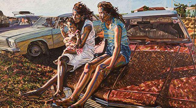 Her paintings of 'Australian nostalgia' were exhibited in 2011. Source: Art Base