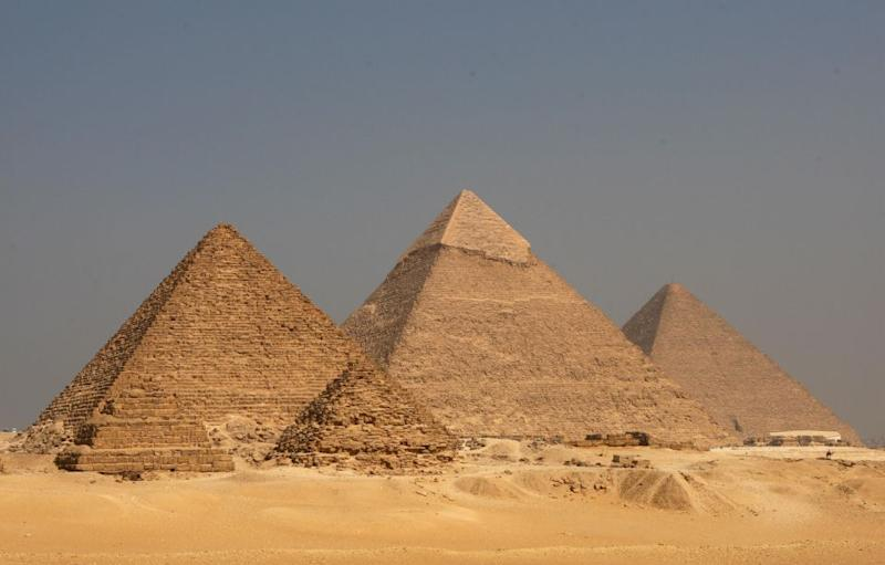 Could there be an alien throne hiding inside Egypt's pyramids? Photo: Getty
