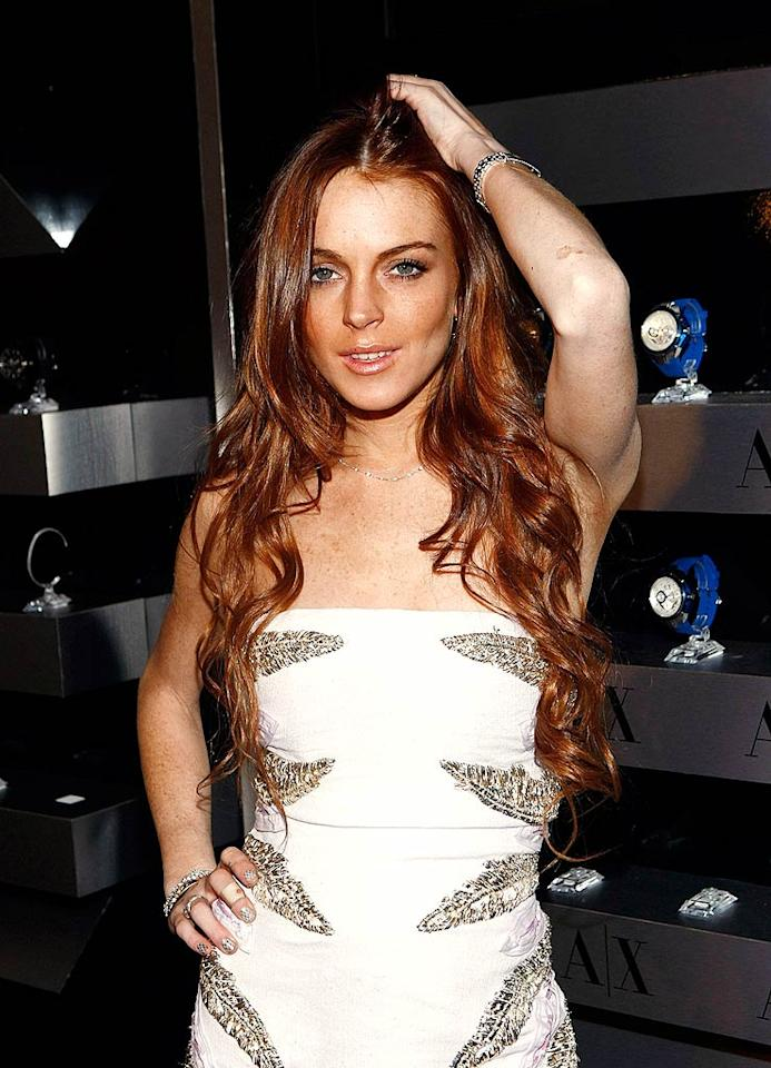 """That same year, Lindsay Lohan, who at the time was best known for Disney flicks like """"The Parent Trap"""" and """"Freaky Friday,"""" got a jump start on being a """"Mean Girl"""" and crashed Aaron's party. Though Carter reportedly bounced back to Duff, a rivalry between the two women was ignited that was later immortalized in an episode of MTV's """"Celebrity Death Match."""" Michael Buckner/<a href=""""http://www.gettyimages.com/"""" target=""""new"""">GettyImages.com</a> - September 1, 2009"""