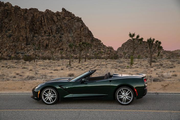2014 Chevrolet Corvette convertible.