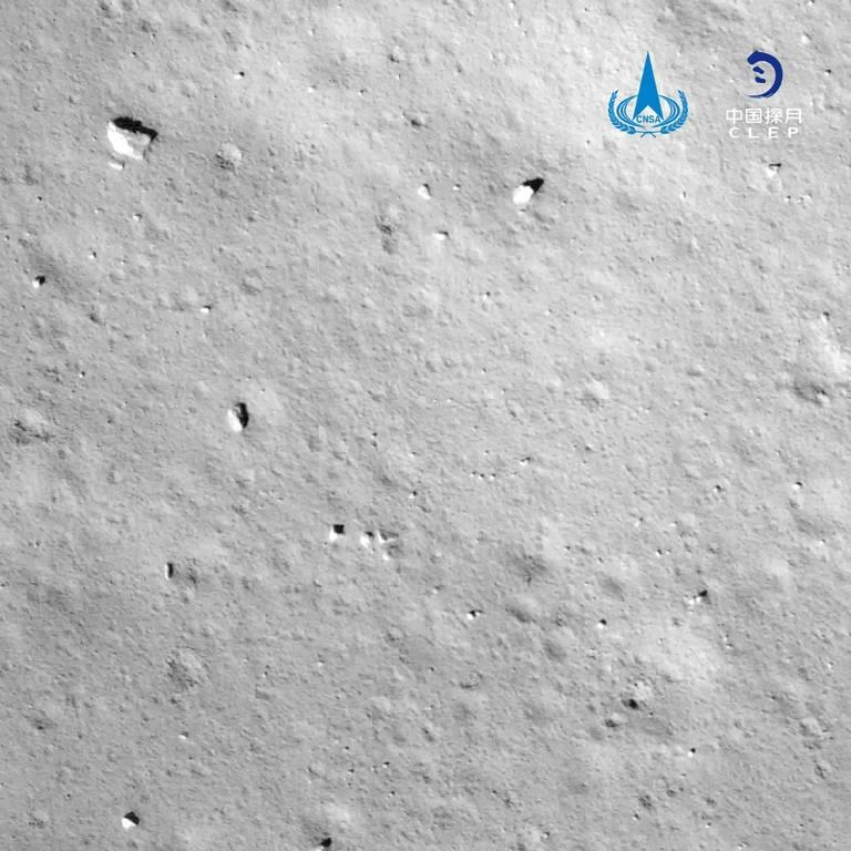 Chang'e-5 collected material from a previously unexplored area of the Moon known as Oceanus Procellarum