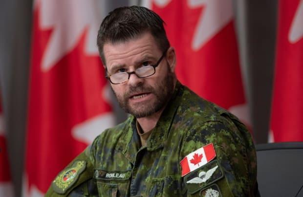 Lt.-Gen. Mike Rouleau has authority over the military's provost marshal, which is in charge of the Canadian Forces National Investigation Service that is investigating Vance. (Adrian Wyld/Canadian Press - image credit)