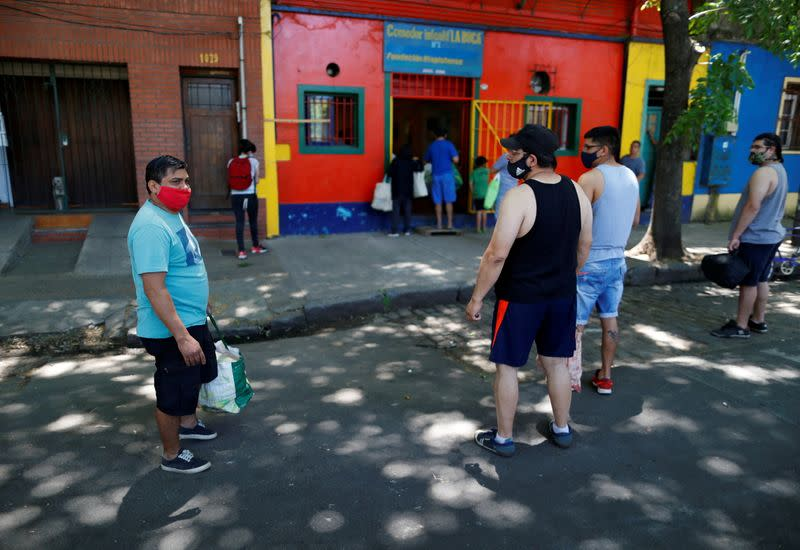 Argentine families struggle against poverty as unemployment, inflation and the pandemic batter the economy.