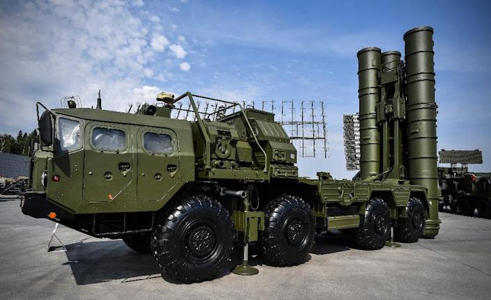 Turkey's agreement to buy the Russian S-400 system has tested its relations with Washington (AFP Photo/Alexander NEMENOV)