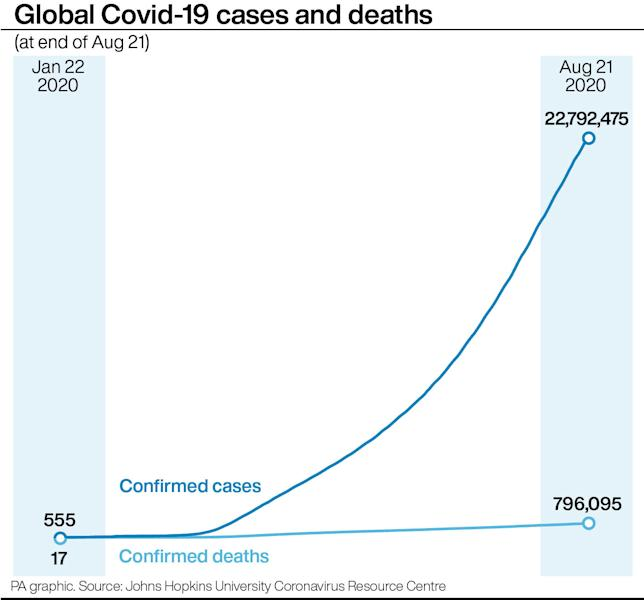 Scientist warns coronavirus will be 'with us forever'