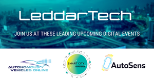 LeddarTech Announces Participation at Three Major Digital Events Focused on ADAS and AD in November 2020