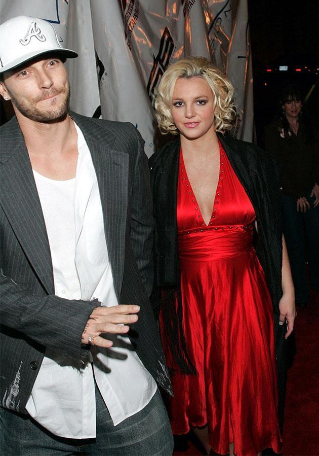 Brit and Kev split in 2006. Photo: Getty Images