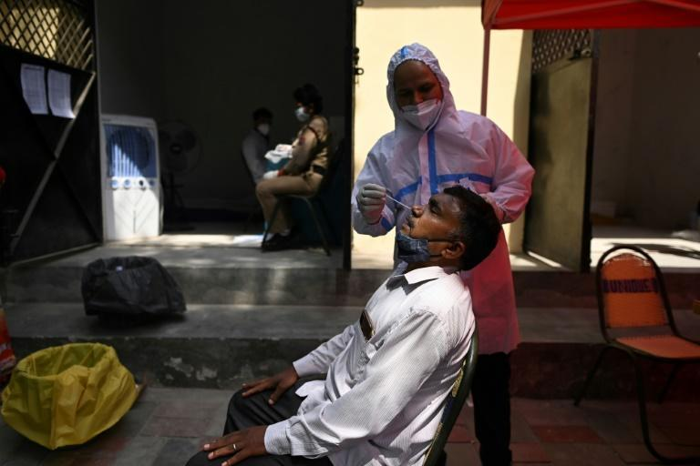 India on Monday overtook Brazil as the country with the second-highest number of infections