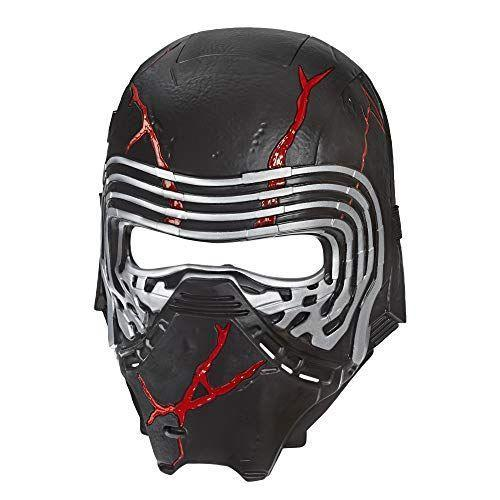 """<p><strong>STAR WARS</strong></p><p>amazon.com</p><p><strong>$18.75</strong></p><p><a href=""""https://www.amazon.com/dp/B07RC7R44D?tag=syn-yahoo-20&ascsubtag=%5Bartid%7C10055.g.29624061%5Bsrc%7Cyahoo-us"""" rel=""""nofollow noopener"""" target=""""_blank"""" data-ylk=""""slk:Shop Now"""" class=""""link rapid-noclick-resp"""">Shop Now</a></p><p>Those cool red cracks aren't just for show — lights and other FX glow more brightly when the wearer talks. it's the perfect way to enhance your at-home lightsaber battles. <em>Ages 5+</em></p>"""