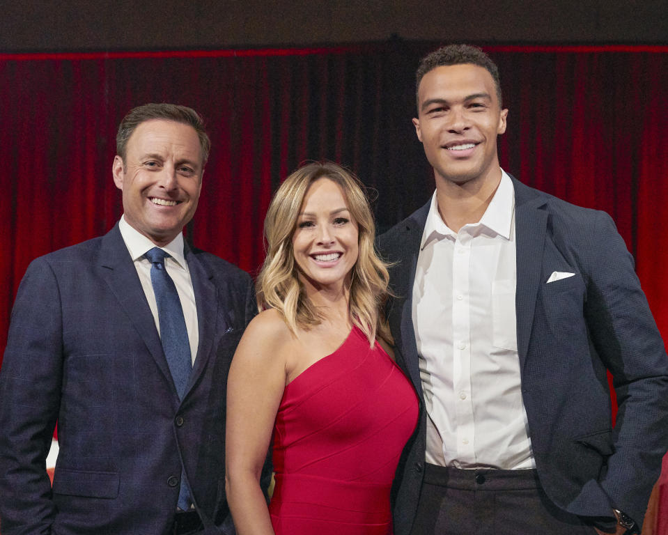 Chris Harrison shares behind-the-scenes info about Clare Crawley's season of The Bachelorette.