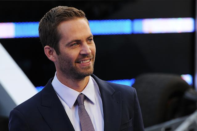 Paul Walker attends the World Premiere of Fast & Furious 6 in London (Credit: Eamonn McCormack/WireImage)