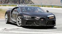 """<p>There's something fun about an automotive mystery. In this case, we have Bugatti developing a <a href=""""https://www.motor1.com/bugatti/chiron/"""" rel=""""nofollow noopener"""" target=""""_blank"""" data-ylk=""""slk:Chiron"""" class=""""link rapid-noclick-resp"""">Chiron</a> with the nose from the Super Sport 300+ and tail like the Pur Sport.</p> <h3><a href=""""https://www.motor1.com/news/432778/bugatti-chiron-super-sport-spied/"""" rel=""""nofollow noopener"""" target=""""_blank"""" data-ylk=""""slk:Strange Bugatti Chiron Spied With Curious Styling Cues"""" class=""""link rapid-noclick-resp"""">Strange Bugatti Chiron Spied With Curious Styling Cues</a></h3> <br><a href=""""https://www.motor1.com/news/431487/bugatti-chiron-pur-sport-nurburgring/"""" rel=""""nofollow noopener"""" target=""""_blank"""" data-ylk=""""slk:Bugatti Releases Glorious Photos Of Chiron Pur Sport At Nürburgring"""" class=""""link rapid-noclick-resp"""">Bugatti Releases Glorious Photos Of Chiron Pur Sport At Nürburgring</a><br><a href=""""https://www.motor1.com/news/431035/bugatti-divo-pur-sport-nurburgring/"""" rel=""""nofollow noopener"""" target=""""_blank"""" data-ylk=""""slk:Bugatti Divo, Pur Sport Spied Getting Hard Nurburgring Workout"""" class=""""link rapid-noclick-resp"""">Bugatti Divo, Pur Sport Spied Getting Hard Nurburgring Workout</a><br>"""