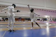 <p>Swords? Duels? Scary helmets? Sick uniforms? Where you lose if you get hit in the face? There's not much more you could reasonably ask for in an Olympic event.</p>