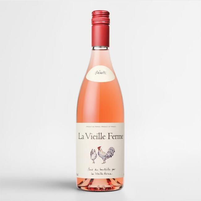 """<p><strong>La Vieille Ferme </strong></p><p>wine.com</p><p><strong>$7.99</strong></p><p><a href=""""https://go.redirectingat.com?id=74968X1596630&url=https%3A%2F%2Fwww.wine.com%2Fproduct%2Fla-vieille-ferme-rose-2018%2F511748&sref=https%3A%2F%2Fwww.goodhousekeeping.com%2Ffood-products%2Fg33644539%2Fbest-cheap-wine-brands%2F"""" rel=""""nofollow noopener"""" target=""""_blank"""" data-ylk=""""slk:Shop Now"""" class=""""link rapid-noclick-resp"""">Shop Now</a></p><p>Red fruit and cherries are revealed in this rosé from France. It's ideal for drinking or serving with a cold meal. </p>"""
