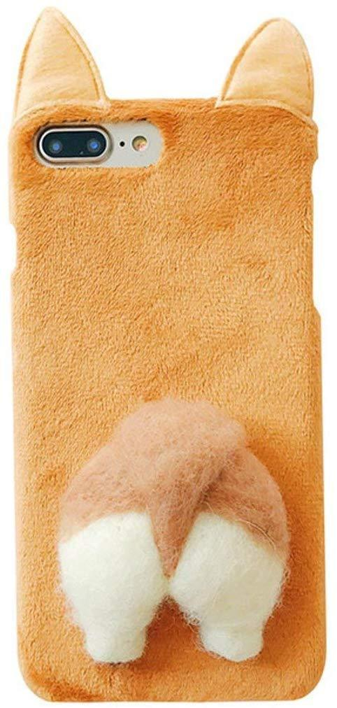 """It'll cushion your phone from accidental drops, scratches, and more...but mostly, a plush case with a corgi caboose is just plain adorable.<br><br><strong>UnnFiko</strong> Puppy Plush Animal Cat Butt Corgi Tail iPhone Case, $, available at <a href=""""https://amzn.to/2E5JdWP"""" rel=""""nofollow noopener"""" target=""""_blank"""" data-ylk=""""slk:Amazon"""" class=""""link rapid-noclick-resp"""">Amazon</a>"""