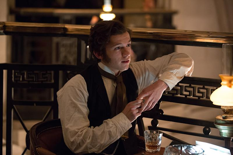 "Tom Holland as Samuel Insull in ""The Current War"" (Photo: Golden Village)"