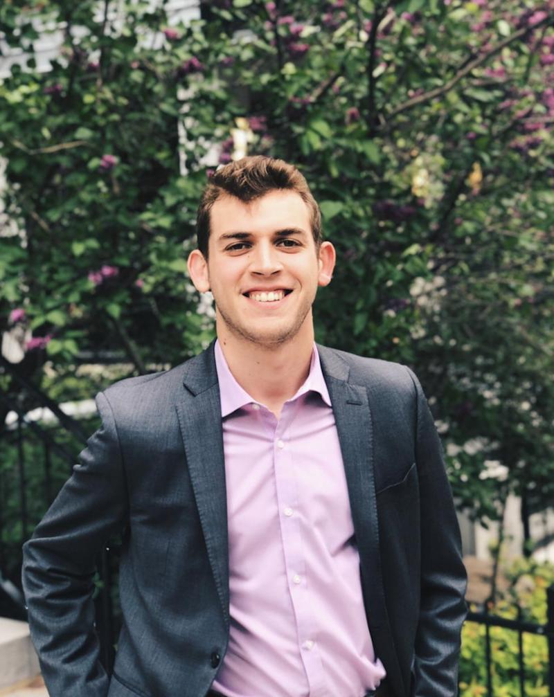 Alex Gold-Apel, a masters student of public policy at the University of Toronto, is set to graduate this semester.
