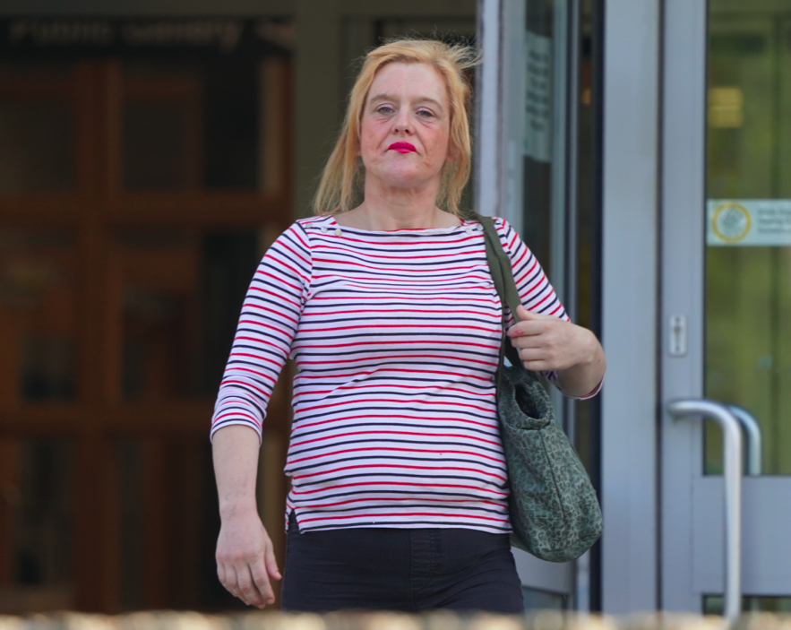 Leanne Stapelton has vowed to turn her life around following her charges for theft. (Reach)