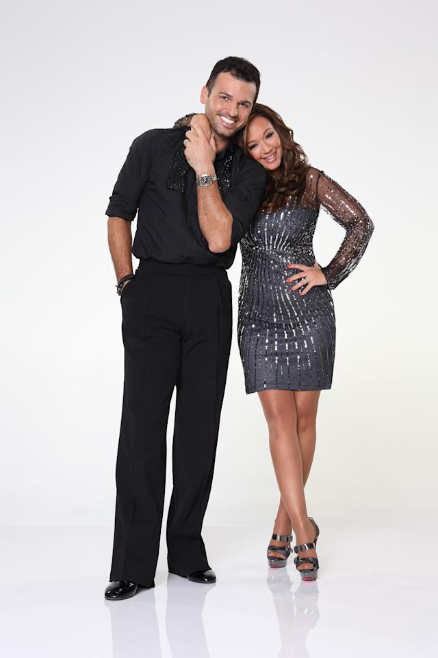 "Leah Remini partners with Tony Dovolani on ABC's ""Dancing With the Stars"" Season 17."