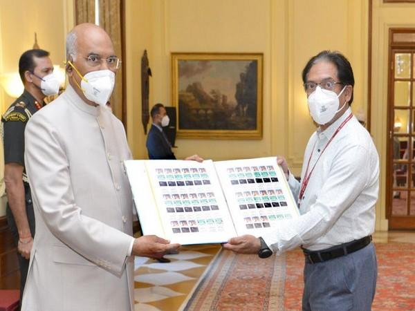President Kovind inaugurates TB Seal Campaign on Friday. (Image courtesy: Twitter)